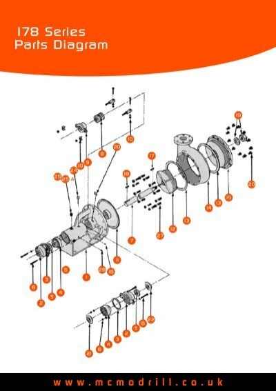 178 Series Parts Diagram