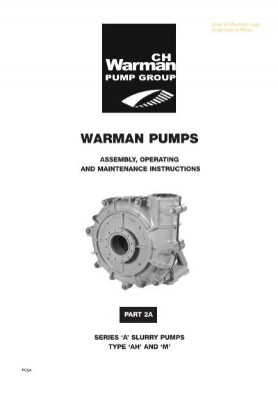 warman pumps amalgamated pumping supplies rh yumpu com