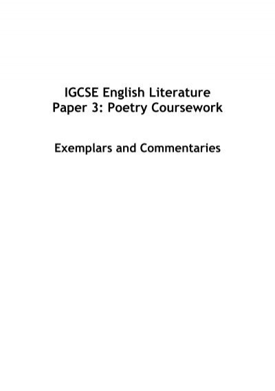 aqa coursework mark scheme english literature