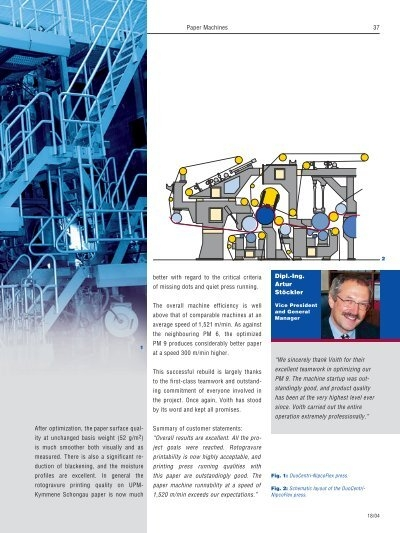 paper technology journal voith Tissue 101: properties and processes course  calvin is an tissue application and process specialist with voith paper  introduction to pulp and paper technology.