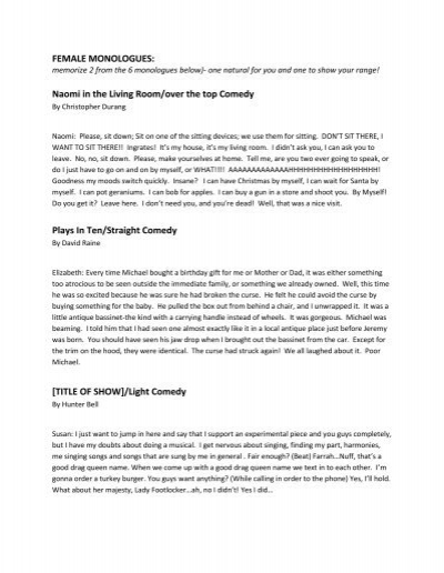 funny-monologues-for-teens