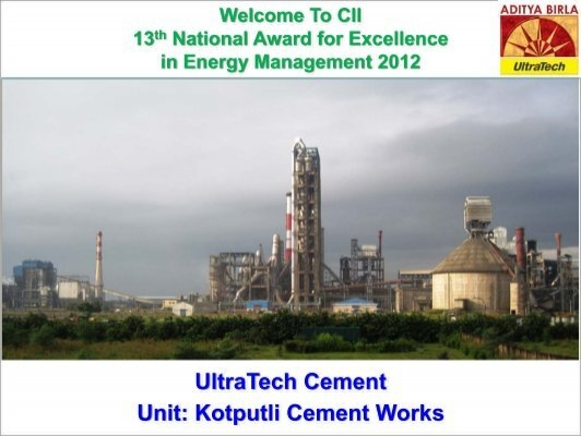 Chittorgarh Birla Cement Works : Kotputli cement works energy manager training