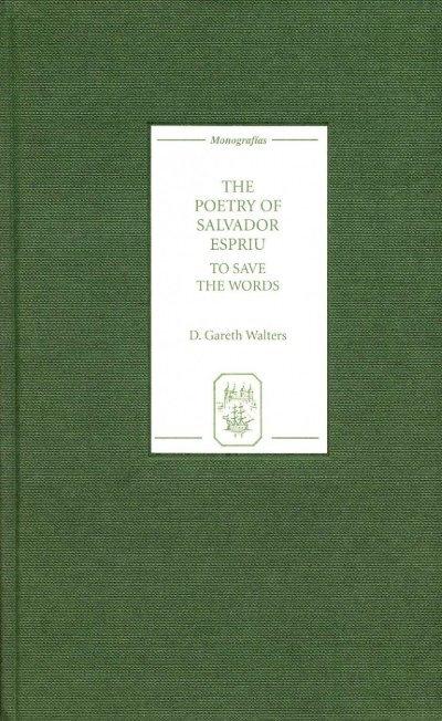 The Poetry Of Salvador Espriu Marshalls University