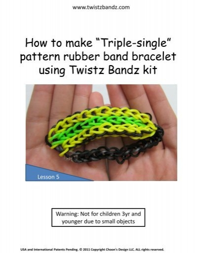 twistz bandz patterns