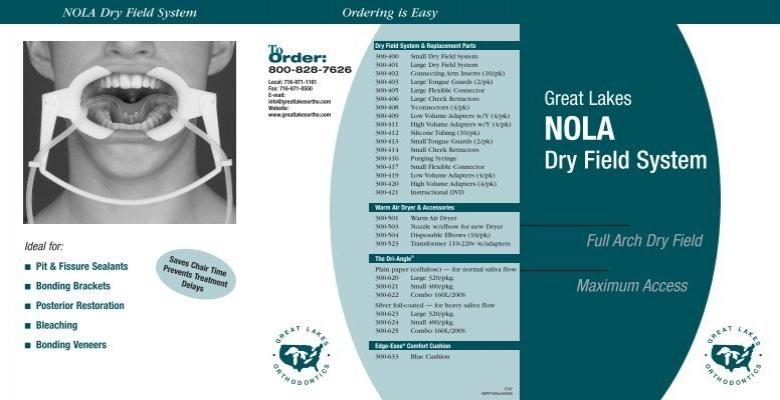 Nola Dry Field Brochure Great Lakes Orthodontics