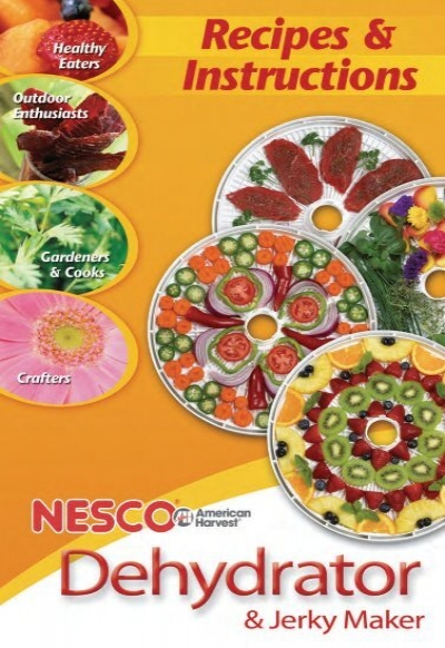 Dehydrator Manual Nescoamerican Harvest