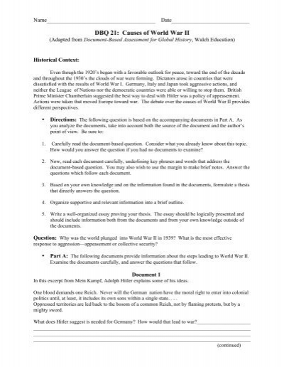 Good Thesis Statement Examples For Essays How Did The Versailles Treaty Help Cause World War  Dbq Essay Essay About English Language also High School Years Essay How Did The Versailles Treaty Help Cause World War  Dbq Essay  Top English Essays