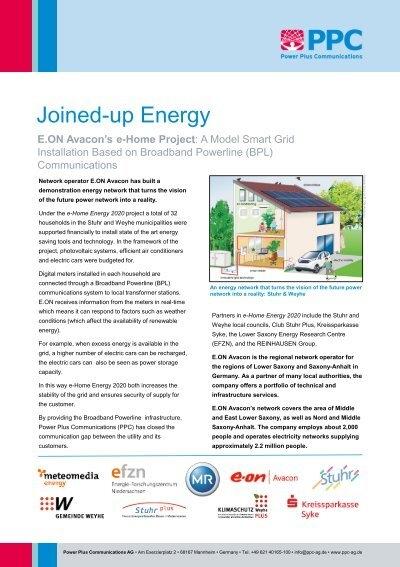 Eon Avacon E Home Project Power Plus Communications Ppc
