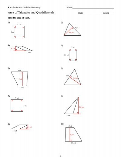 Mathworksheets4kids Triangle Interior Angles Answers Pairs Of Angles Worksheetsquadrilateral