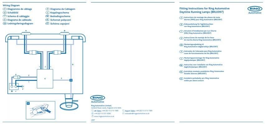 Daytime Running Lamps (BRL0397) - Halfords