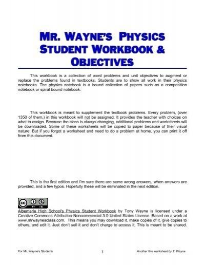 Newton S Laws Worksheet