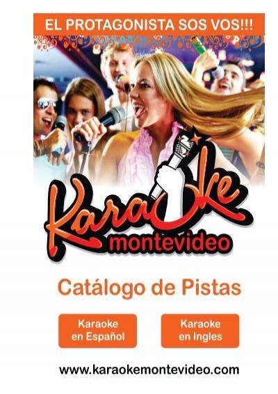 Catalogo De Pistas Cdr Karaoke Montevideo