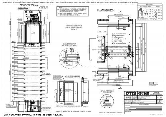 Otis elevator user manual Technical on