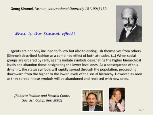 summary of georg simmel