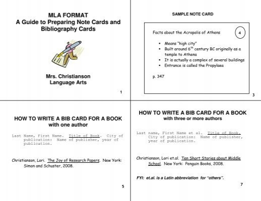format for notecards for research papers Research paper: rubric for research notecards and works cited page name:_____ social issue:_____ total assessment score: _____ /30 lt: i can conduct online research.