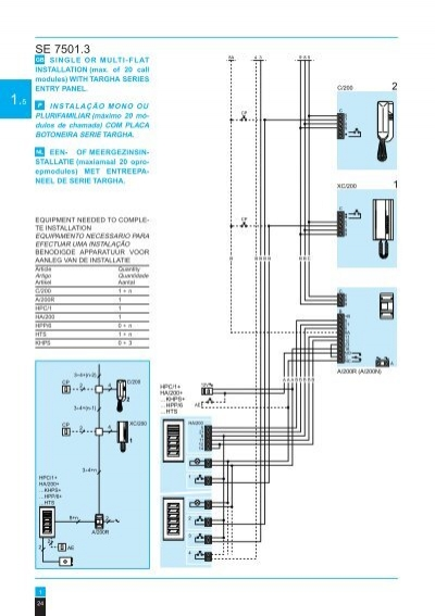 27 se 7501 2 gb single or mu bpt a 200r wiring diagram at crackthecode.co