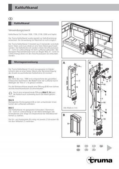 kaltluftkanal truma. Black Bedroom Furniture Sets. Home Design Ideas