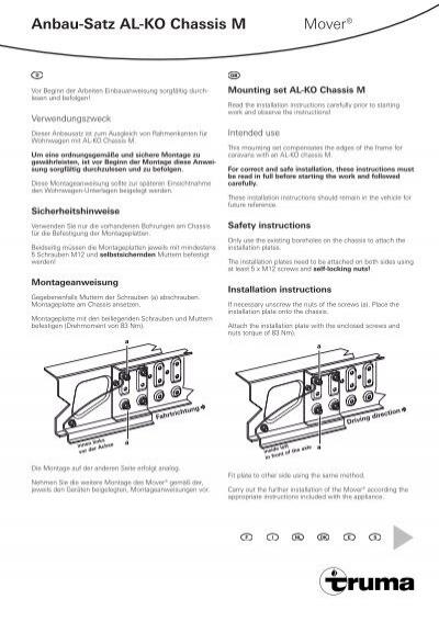Anbau satz al ko chassis m mover truma asfbconference2016 Choice Image