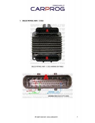 3 delco petrol hsfi 2 x rh yumpu com Auto Key Programmer Universal ECU Programmer