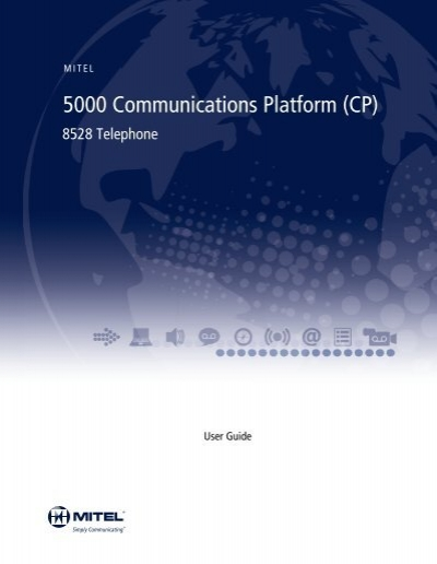 mitel 8528 telephone user guide