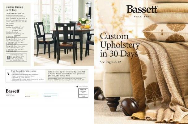 Bassett Custom Upholstery Design, Bassett Furniture Louisville