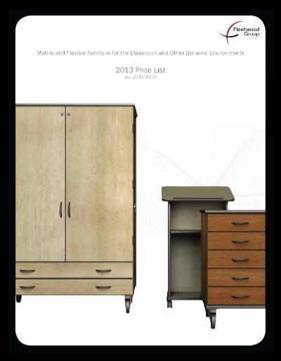 Perfect Price List   Fleetwood Furniture