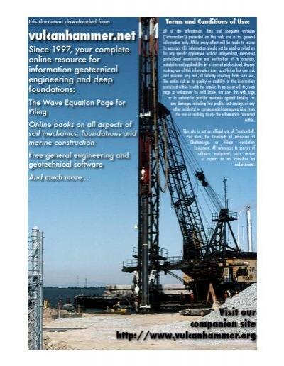 Soil Mechanics -- NAVFAC DM 7 01 - vulcanhammer net