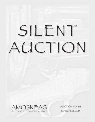 Silent Amoskeag Auction Company