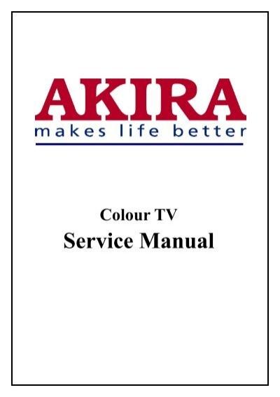 service manual akira rh yumpu com