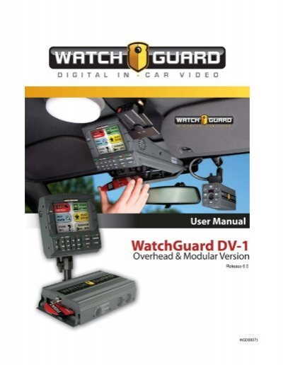 Download dv 1 user manual watchguard video asfbconference2016 Choice Image