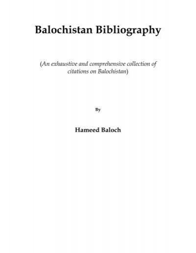 1898 Baloch uprising