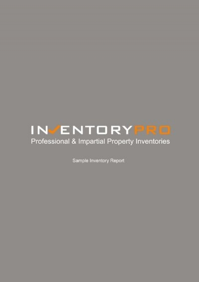 sample inventory inventorypro