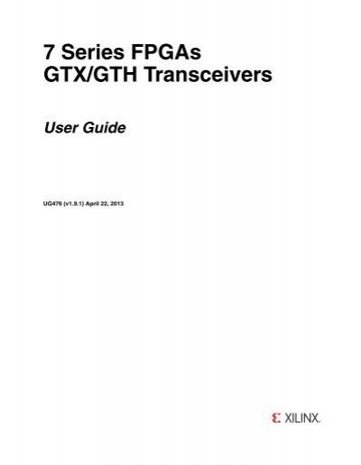 Chapter 1: Transceiver an