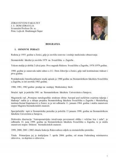 cv - lejla ibrahimagic-seper pdf