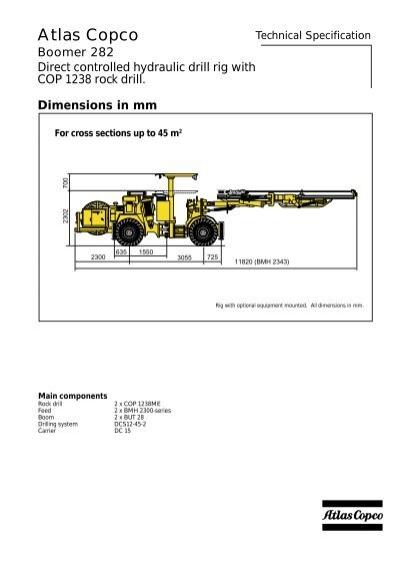 boomer 282 with cop 1238 rock drill atlas copco rh yumpu com