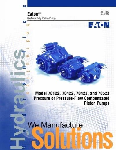 Medium Duty Piston Pump M