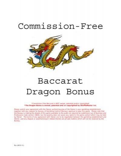 Mini Baccarat Rules