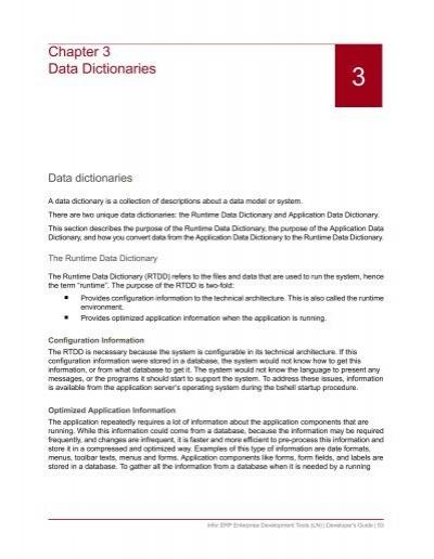 English In Italian: Data Dictionaries System