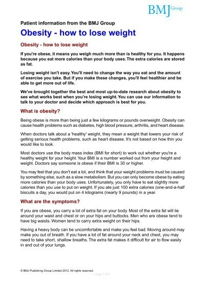 Diseases caused by obesity and being overweight and dating