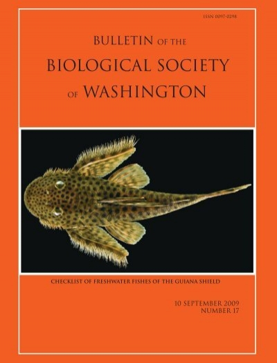 Biological Society Of Washington Department Of Botany