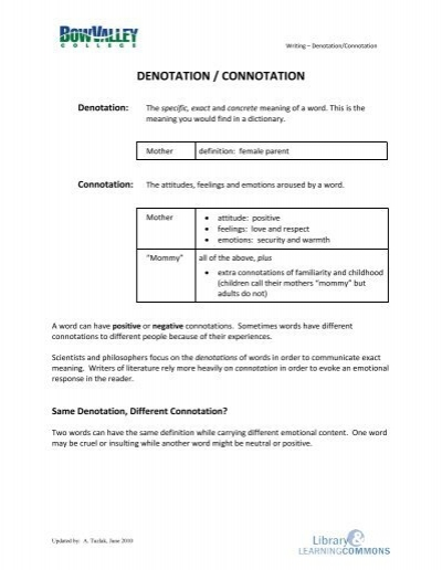 Worksheets Connotation And Denotation Worksheets connotation and denotation worksheets for middle school worksheet samsungblueearth