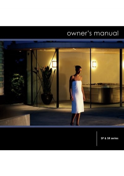 Villeroy Boch Spa Owner S Manual English