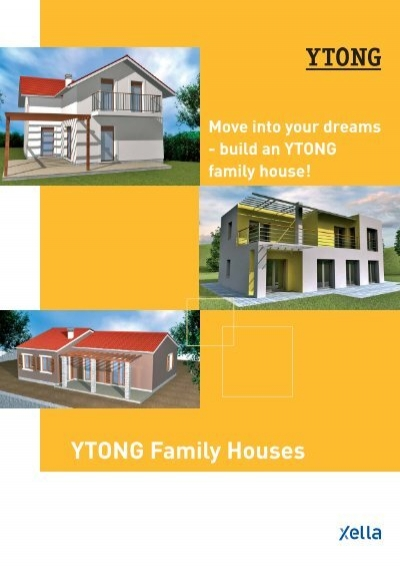ytong family houses xella international gmbh. Black Bedroom Furniture Sets. Home Design Ideas