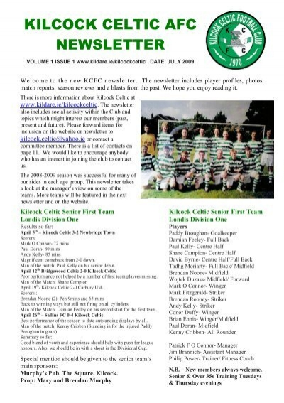 Kilcock Celtics big fundraiser for expanding north Kildare
