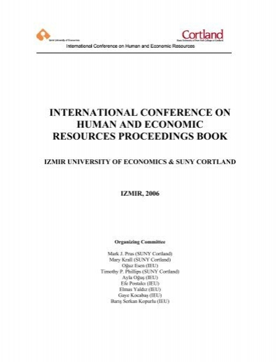 International Conference On Human And