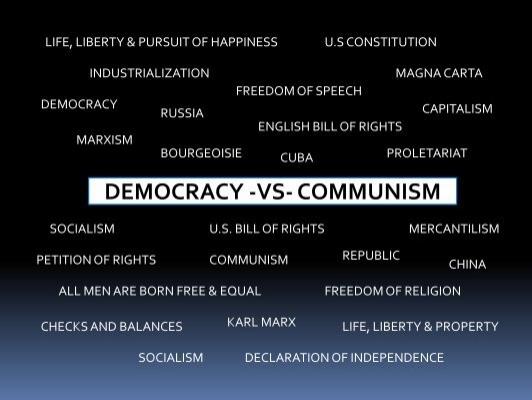 Lesson 56 democracy vs communism publicscrutiny Choice Image