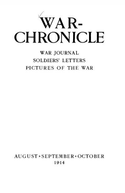 War Chronicle