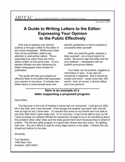 A guide to writing letters to the editor expressing your ncrtm expocarfo Choice Image