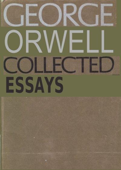 orwell essays on writing