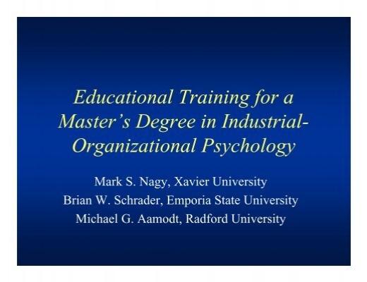industrial psychology pdf free download aamodt